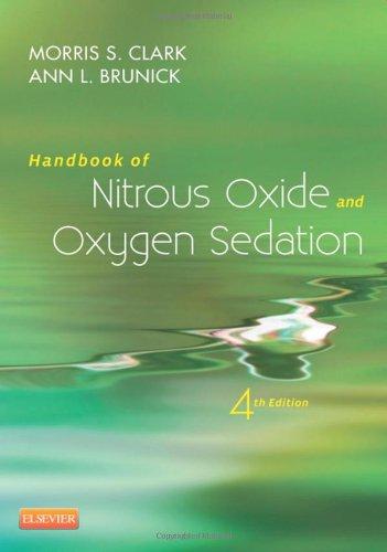 Handbook of Nitrous Oxide and Oxygen Sedation 4th Edition PDF