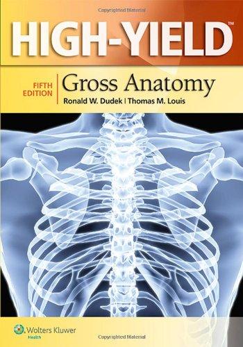 High Yield Gross Anatomy 5th Edition PDF