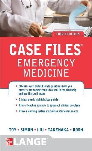 case files emergency medicine PDF