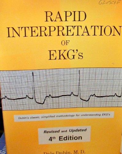 Rapid Interpretation of EKG's 4th Edition PDF
