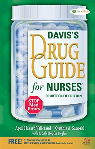 davis drug guide for nurses 14th edition