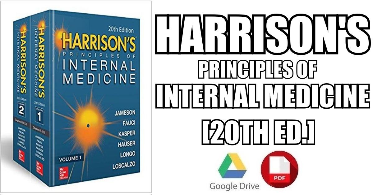 harrison 20th edition pdf