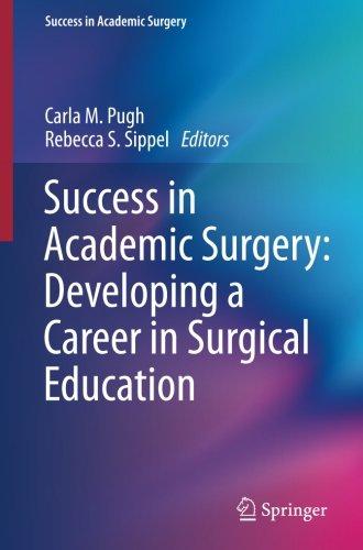 Success in Academic Surgery PDF