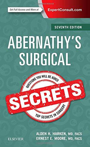 abernathy's surgical secrets 7th edition pdf